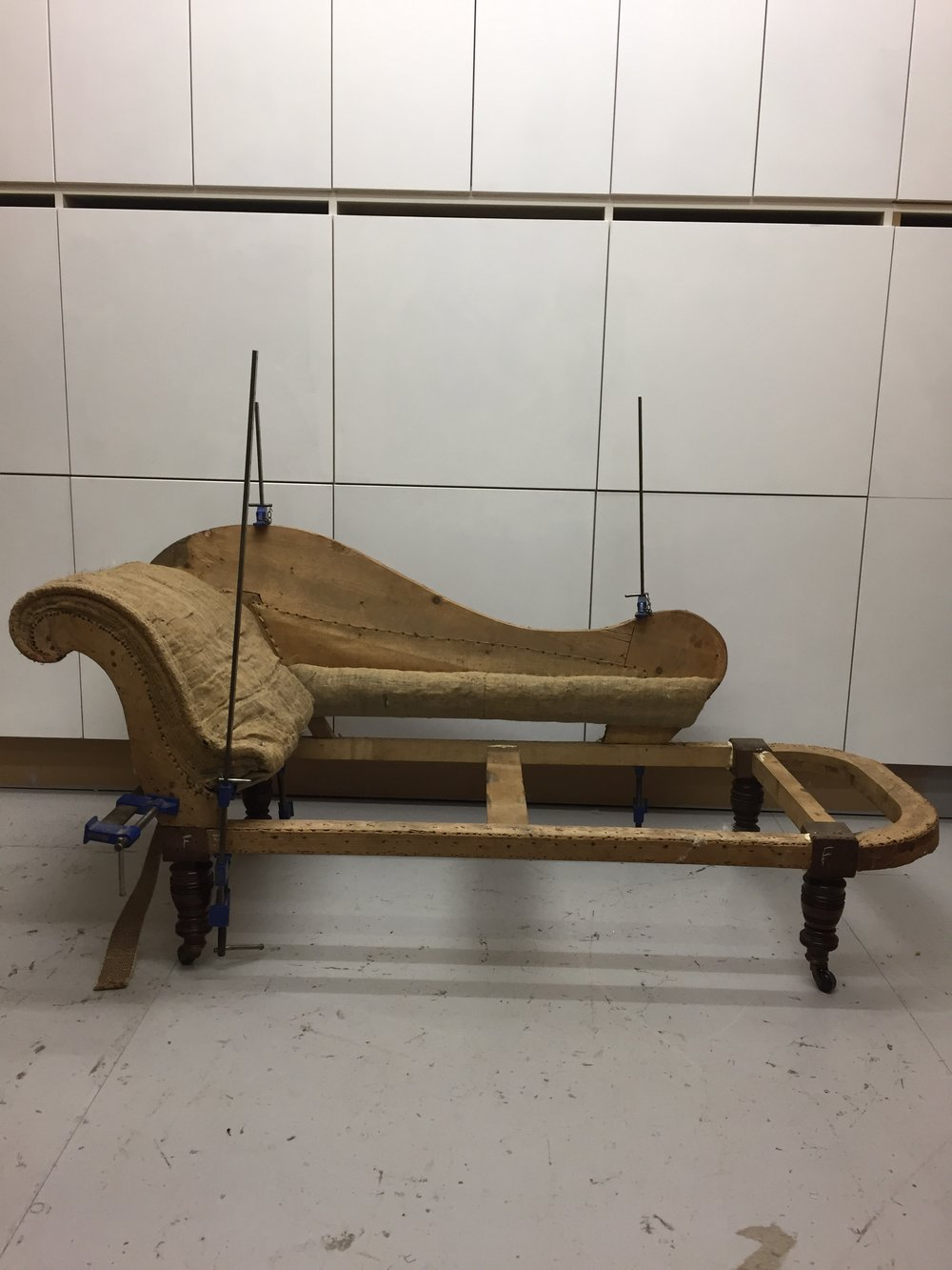 Chaise Lounge Restoration