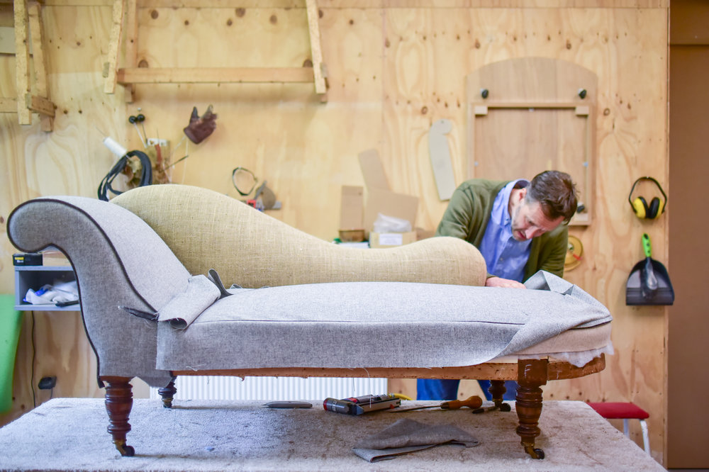 Be Seated - Chaise Lounge - Restoration