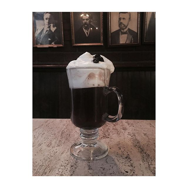 We're open! If you're in the West Village tonight, come warm up with us and catch a mellow, mellow evening of jazz with John Lander. Pictured: #Irish coffee ☕️☕️☕️ #nyc #westvillage #newyork