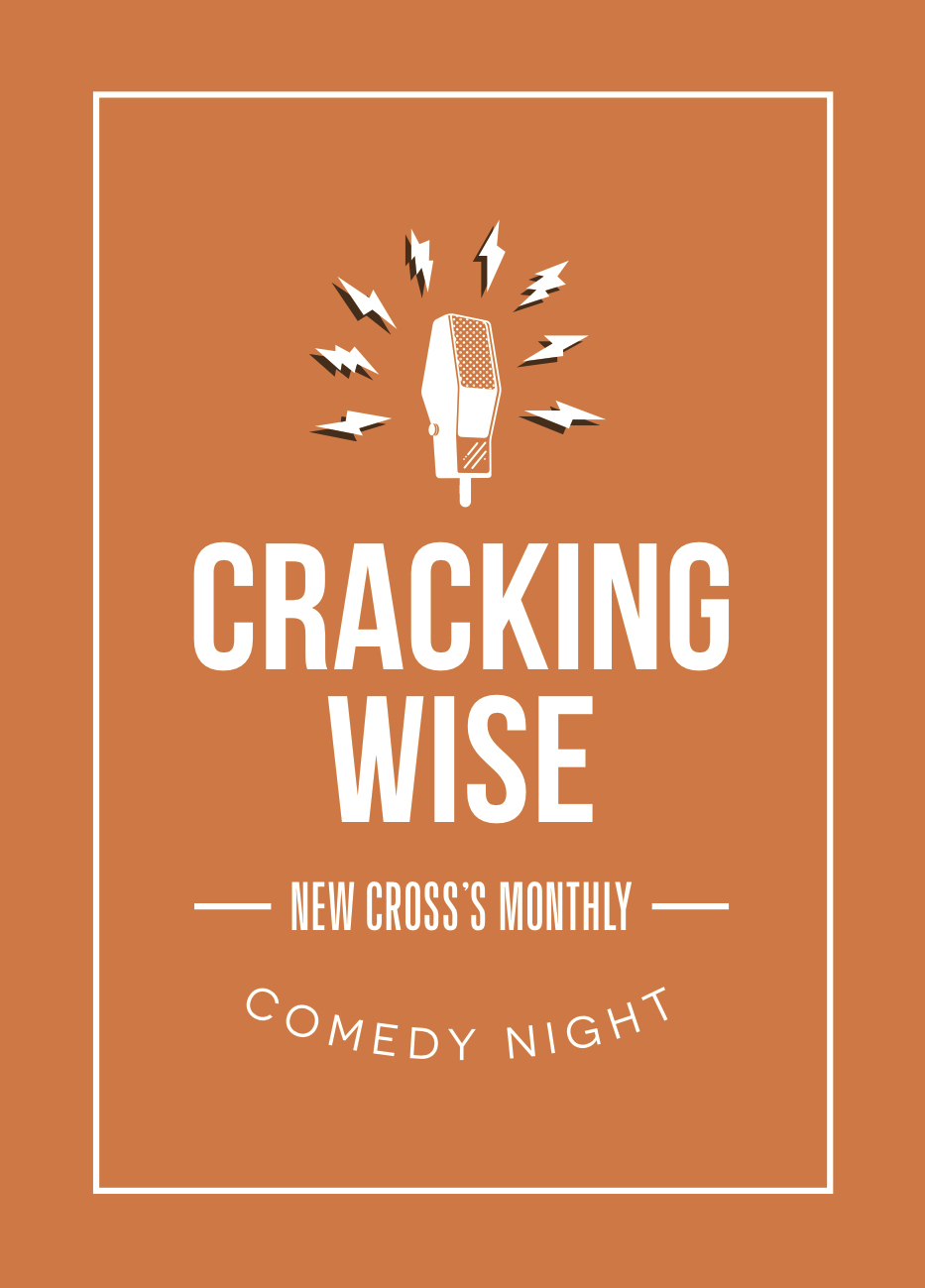 CRACKING WISE LAST THURSDAY OF EVERY MONTH FREE ENTRY 8PM