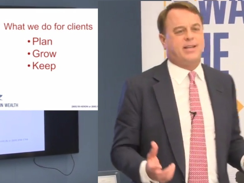 How Heron Wealth helps you to achieve your financial goals - In this short presentation David Edwards, President and Wealth Advisor, introduces the Heron Wealth approach.