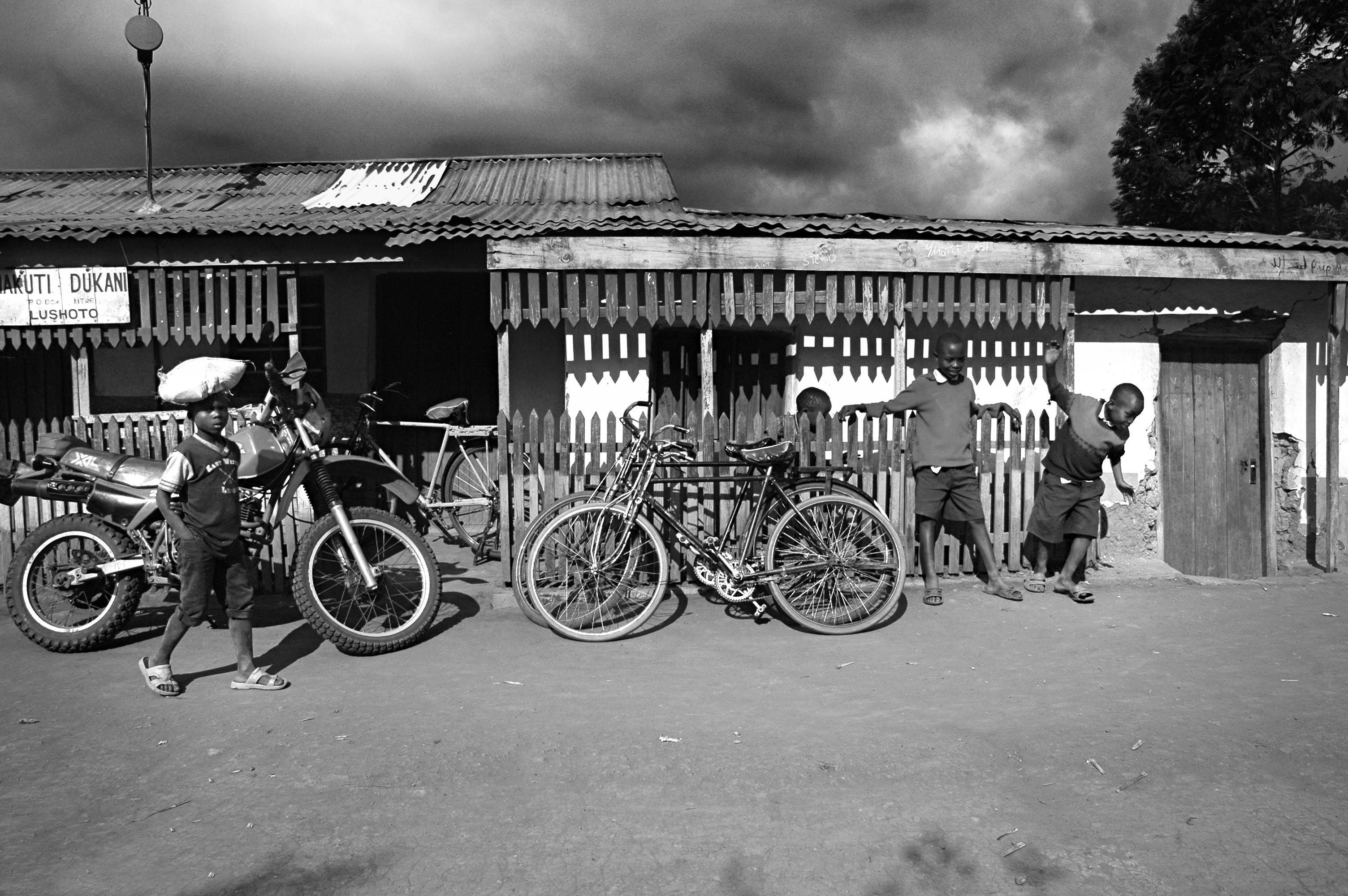 Children playing near bikes.jpg