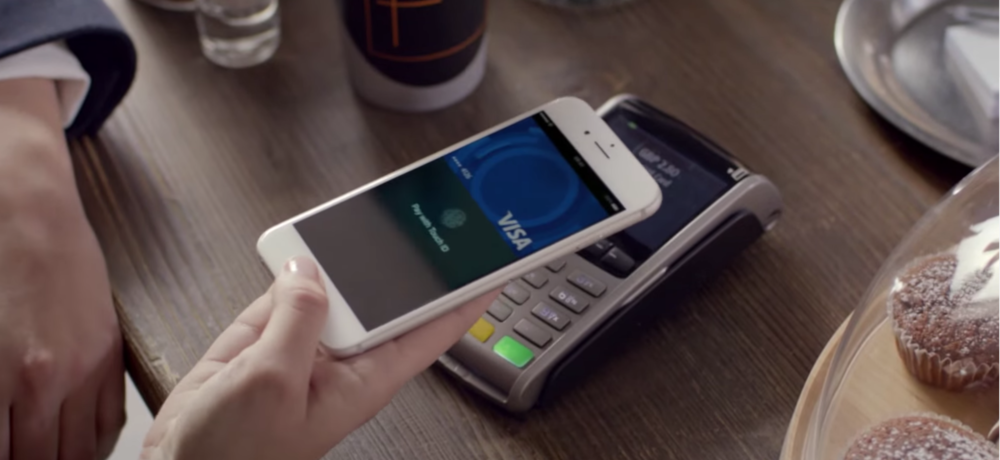 Visa had a nicely shot sequence to highlight the ease of their apple pay feature, good reference.