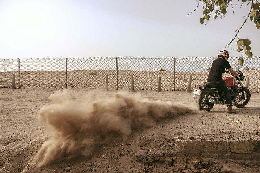 Ago '18  /  Off to the dust, Bahrain