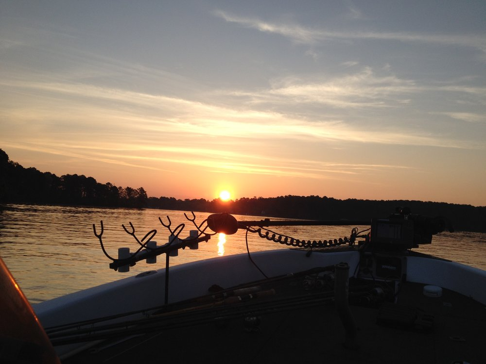 Sunrise on Lake Oconee | RealEstateLakeOconee.com