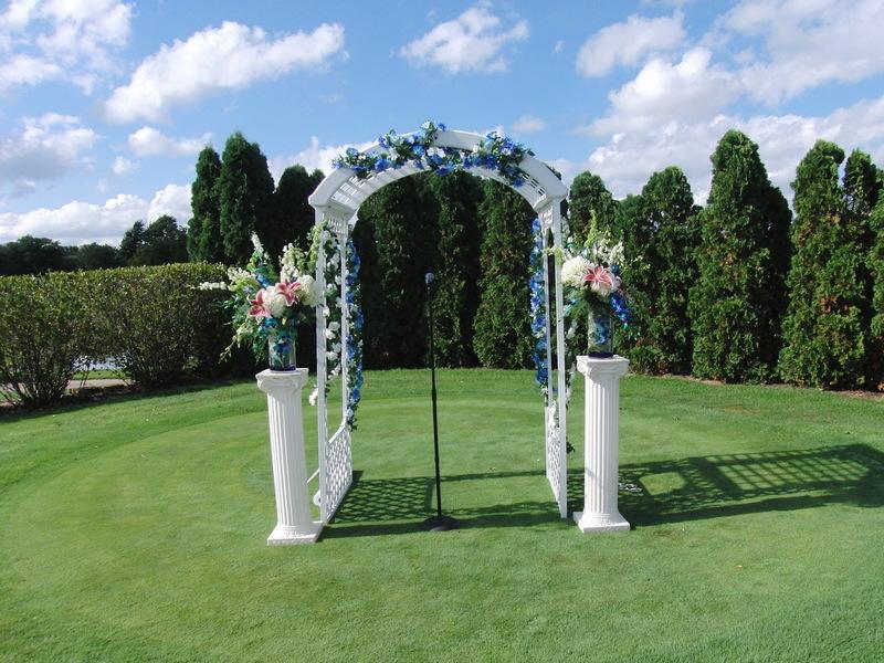 Golf Club Wedding Ceremony