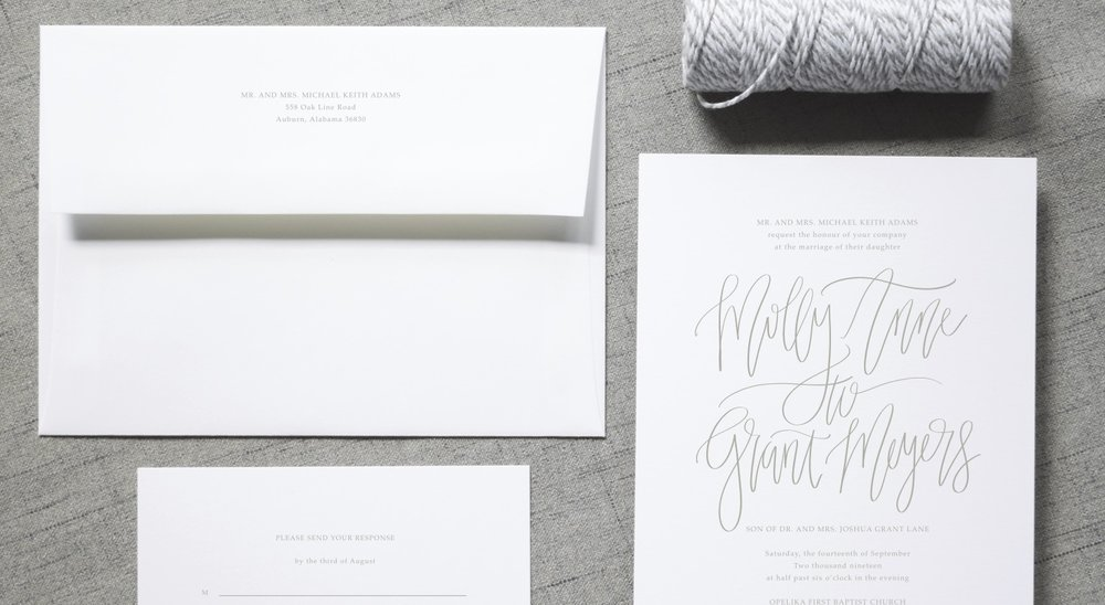 SHOP ALL - Semi-Custom Invitation Suites