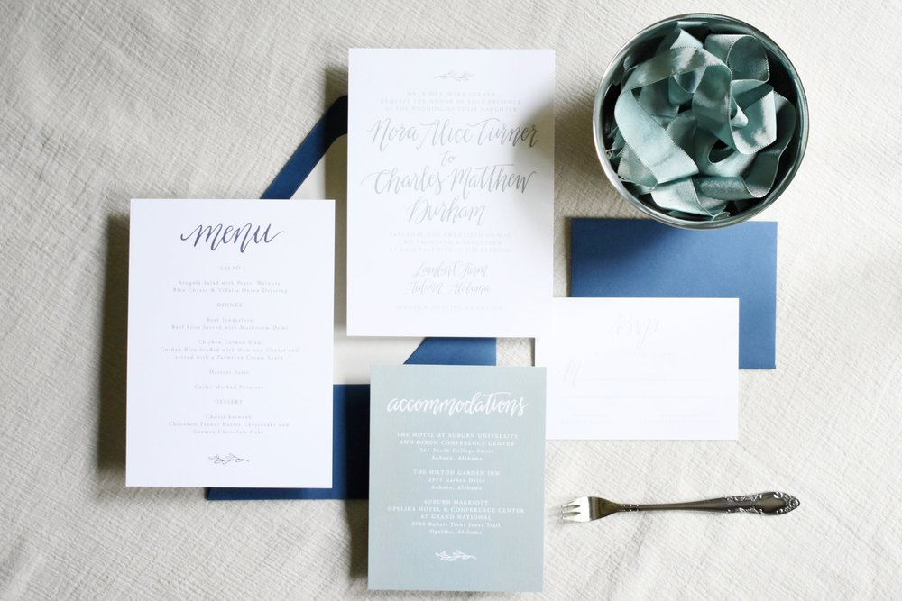 INVISION EVENTS - Wedding Paper 101:  Q & A on Invitations, Calligraphy and more