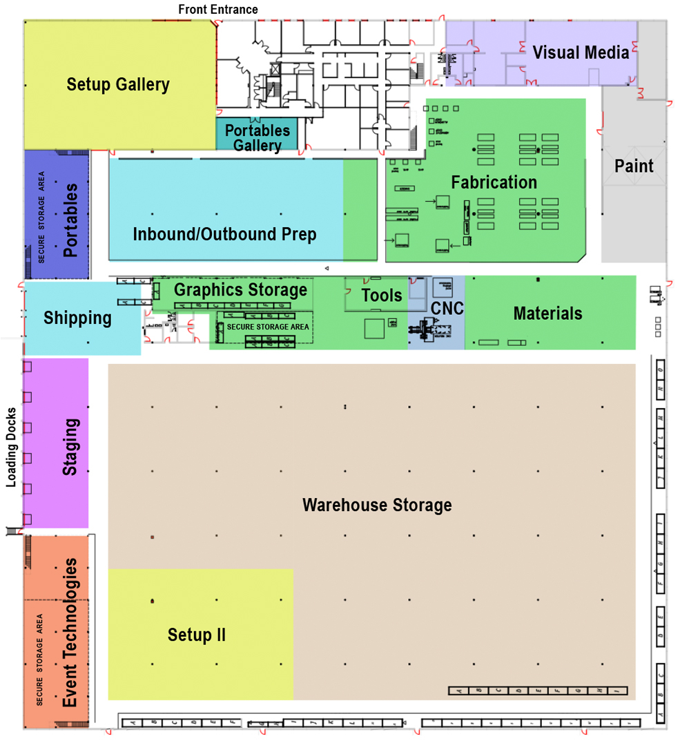 facility floorplan