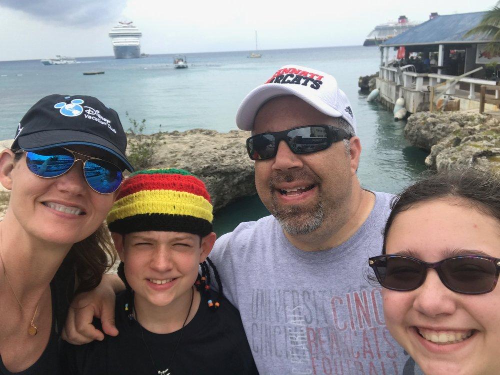 Douggiestyle family selfie!