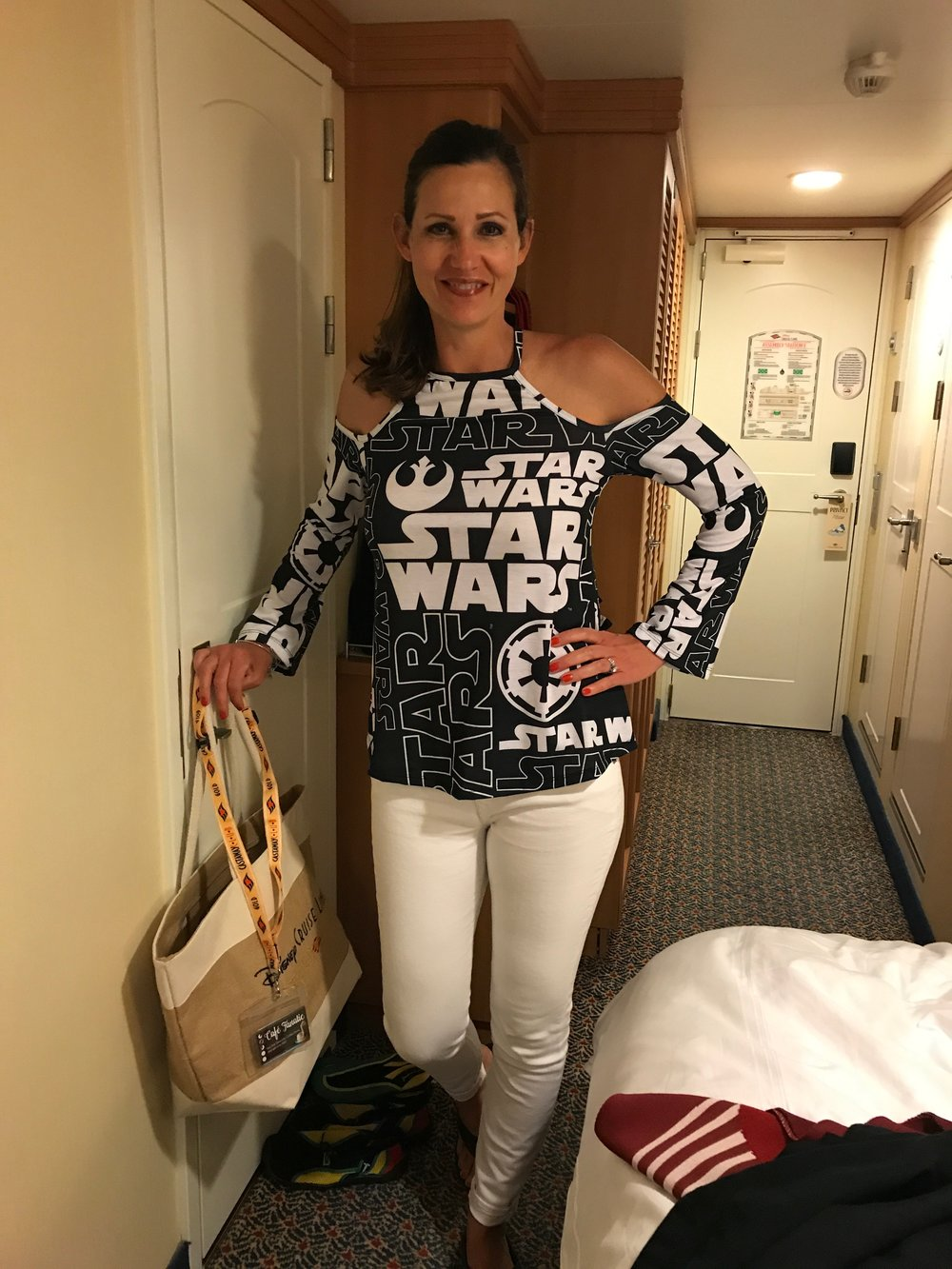 Mrs. Douggiestyle creating a disturbance in the Force!