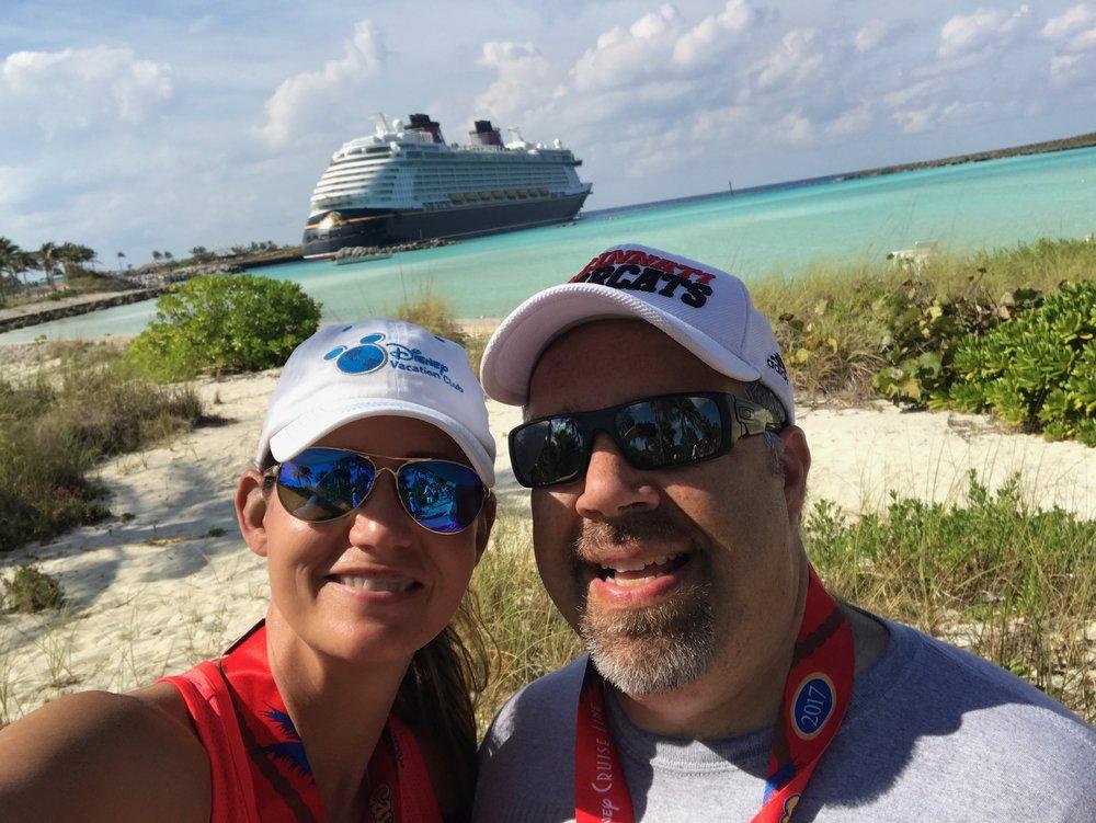 Ship selfie!