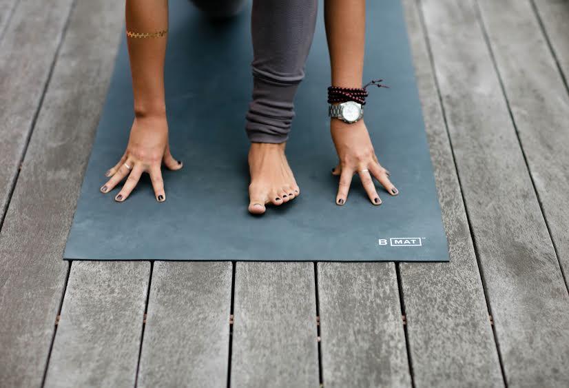 b yoga mat