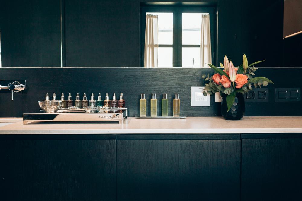 Anne Semonin Products at Hotel Sant Francesc