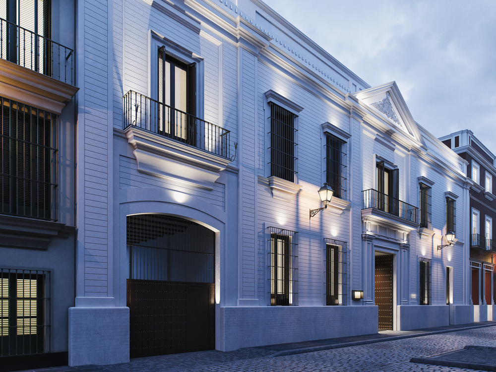 The facade of Mercer Sevilla
