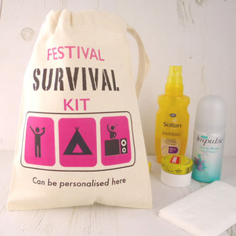 The Festival Survival Kit  £6.50