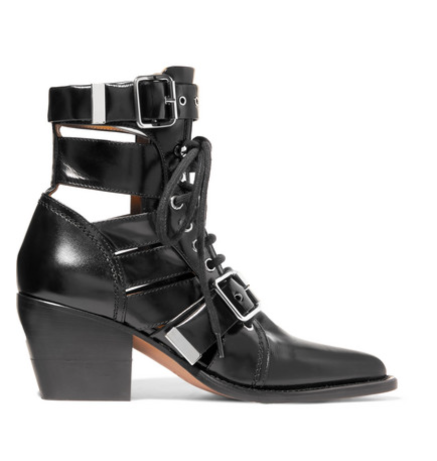 Rylee Cutout Leather Boots, £995, Chloe at Net-a-Porter. Available at  https://rstyle.me/~akx7a