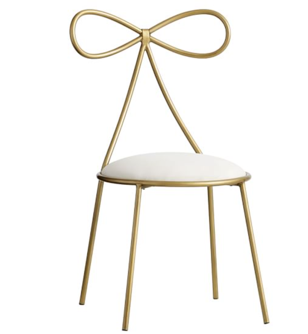 The Emily & Meritt Bow Chair, $269 available at  https://rstyle.me/~akx7w