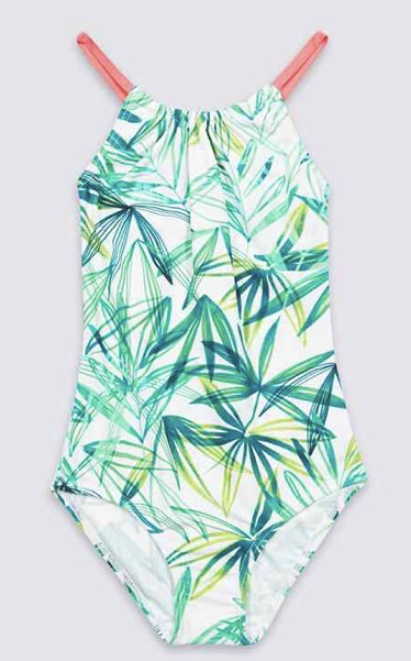 Palm Leaf Print swimsuit £8 - £11