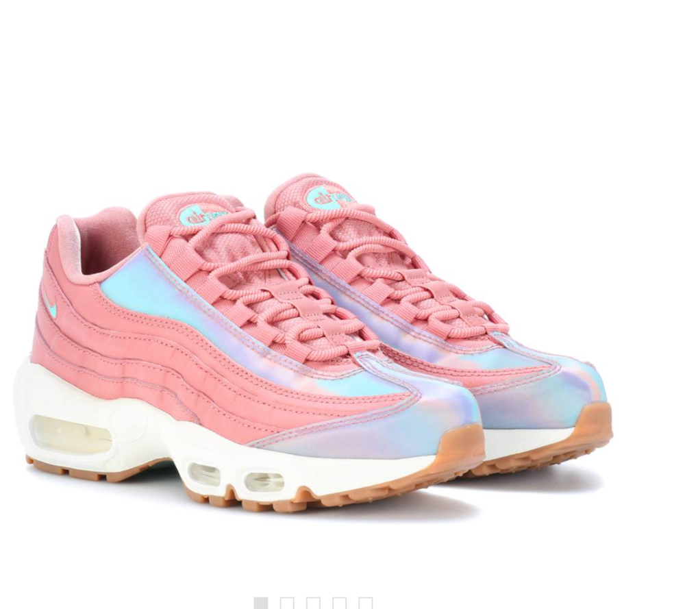 NIKE Air Max 95 leather sneakers - £150