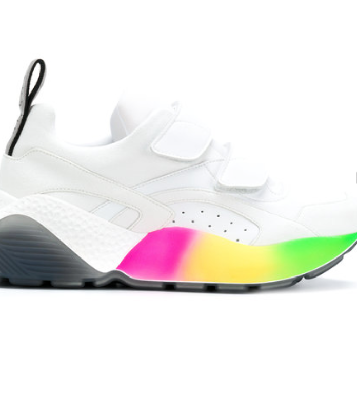 STELLA MCCARTNEY ECLYPSE RAINBOW SNEAKERS £450