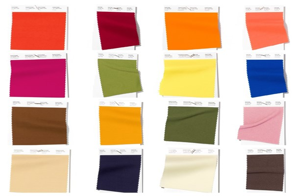 THE 12 COLOURS PANTONE PREDICTS WILL BE BIG THIS SPRING!