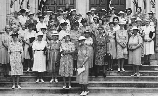 Ladies of St. Luke's women's in 1944.