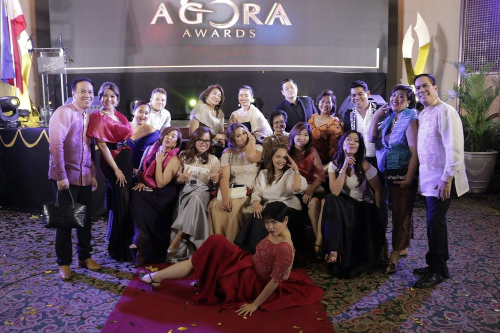 The 38th Agora Committee with friends from the AFFI