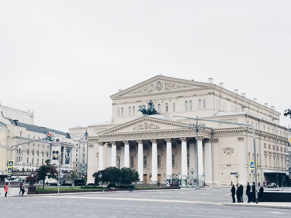The world-renowned Bolshoi Theatre