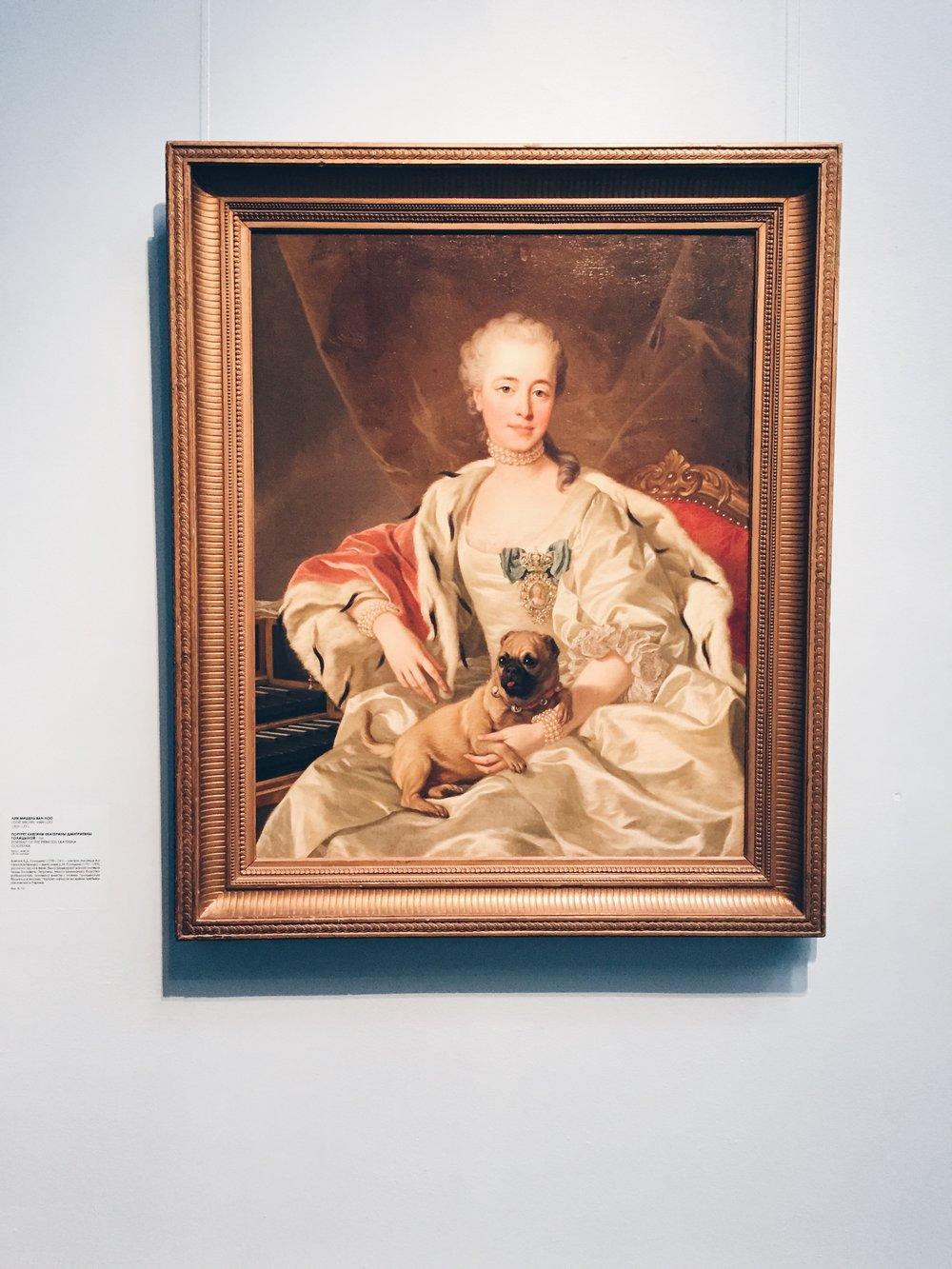 Princess Ekaterina Dmitrievna Golitsyna