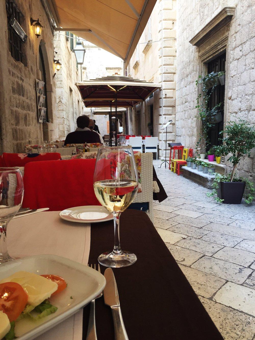 caprese salad (Dubrovnik)