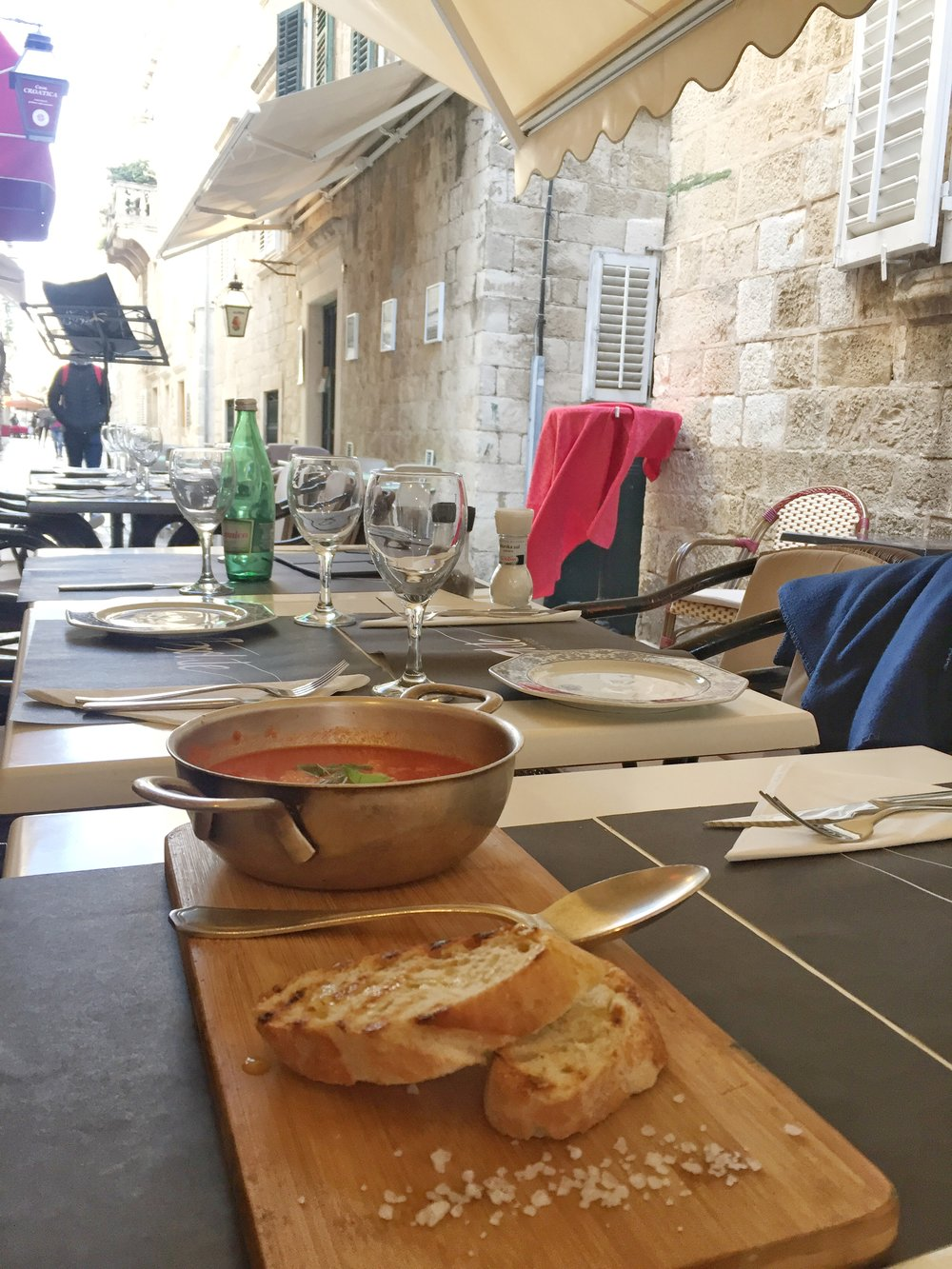 tomato soup at Absolute Wine & Food (Dubrovnik)