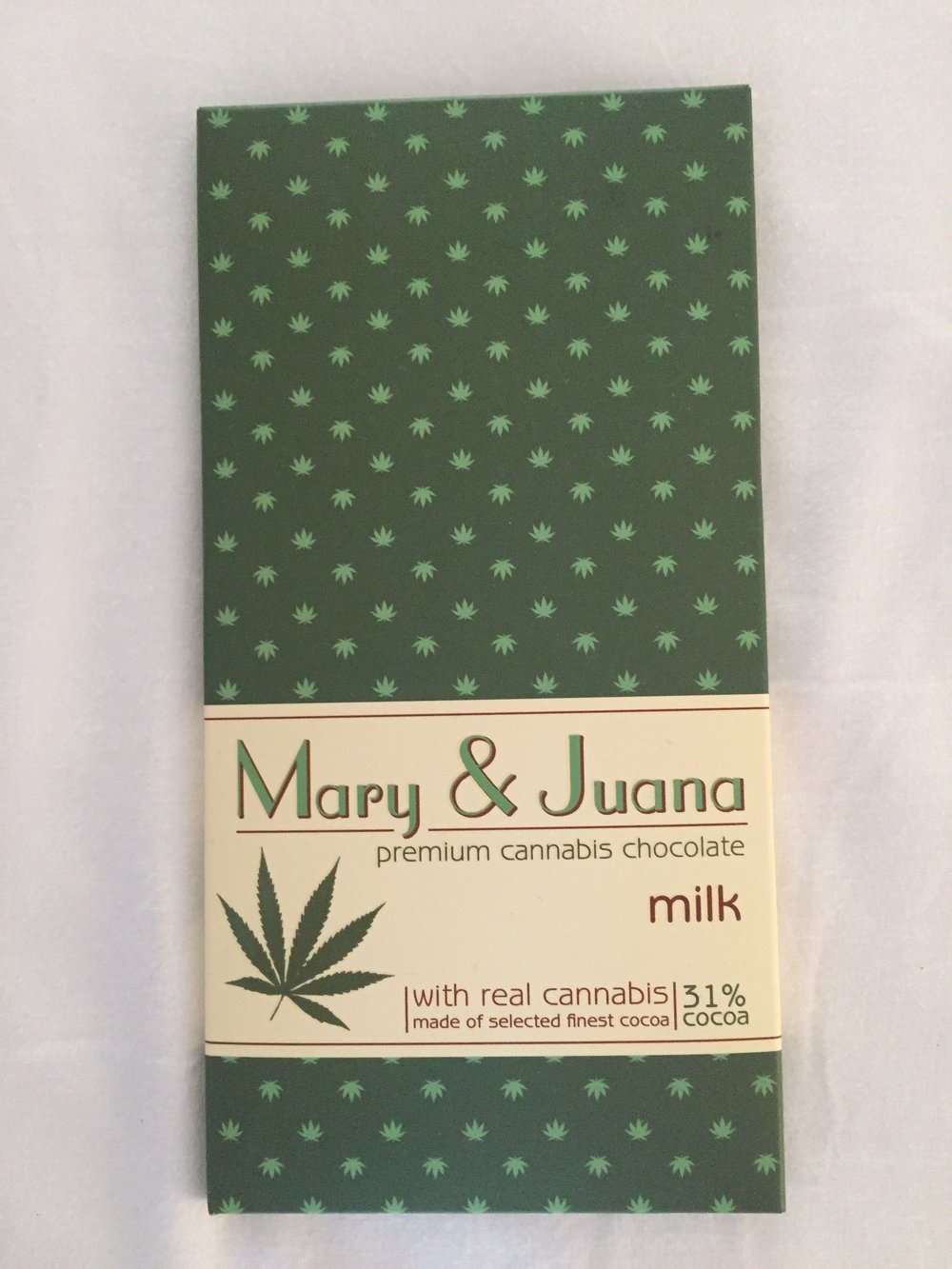 cannabis chocolate (Prague, Czech Republic)