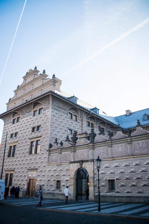 Schwarzenberg Palace (Schwarzenberský palác), a national gallery