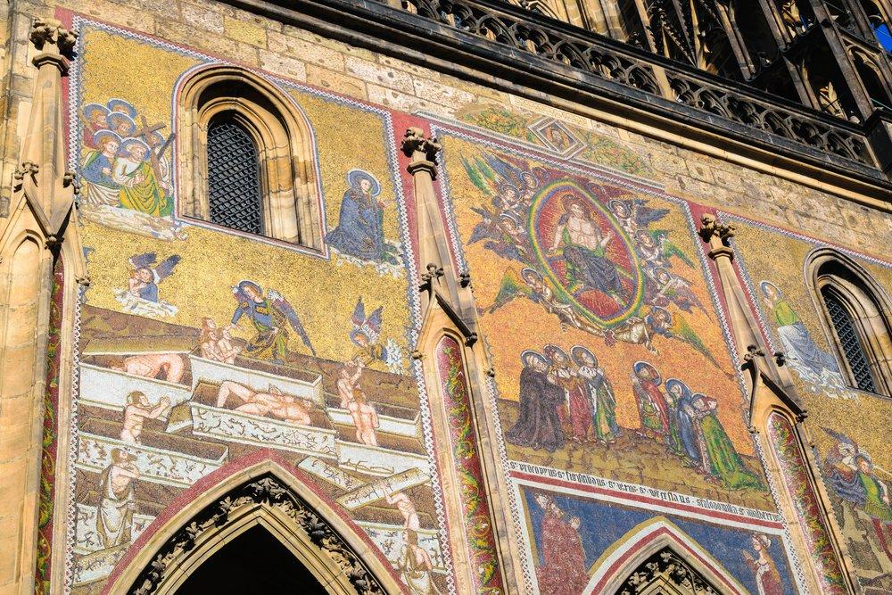 amazing Last Judgement mosaic
