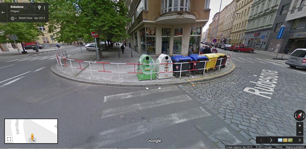 pedestrian barriers, yikes!