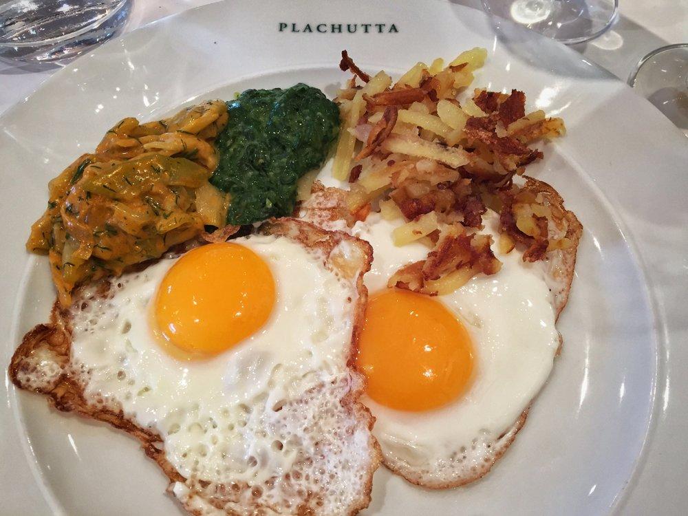 going side crazy at Plachutta (Vienna)