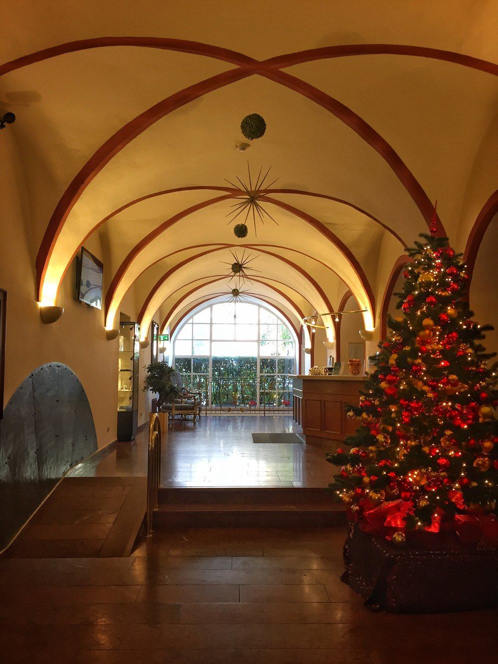 lobby of my hotel, Hotel am Mirabellplatz