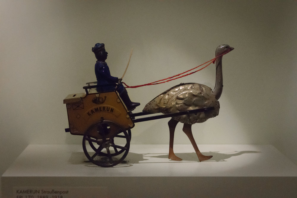 ostrich carts: because bike carts are so 2010