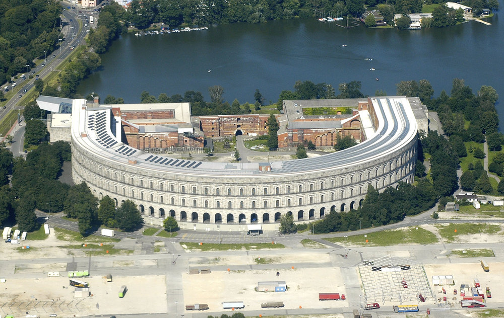 aerial view of Congress Hall (photo credit: Nicohofmann)