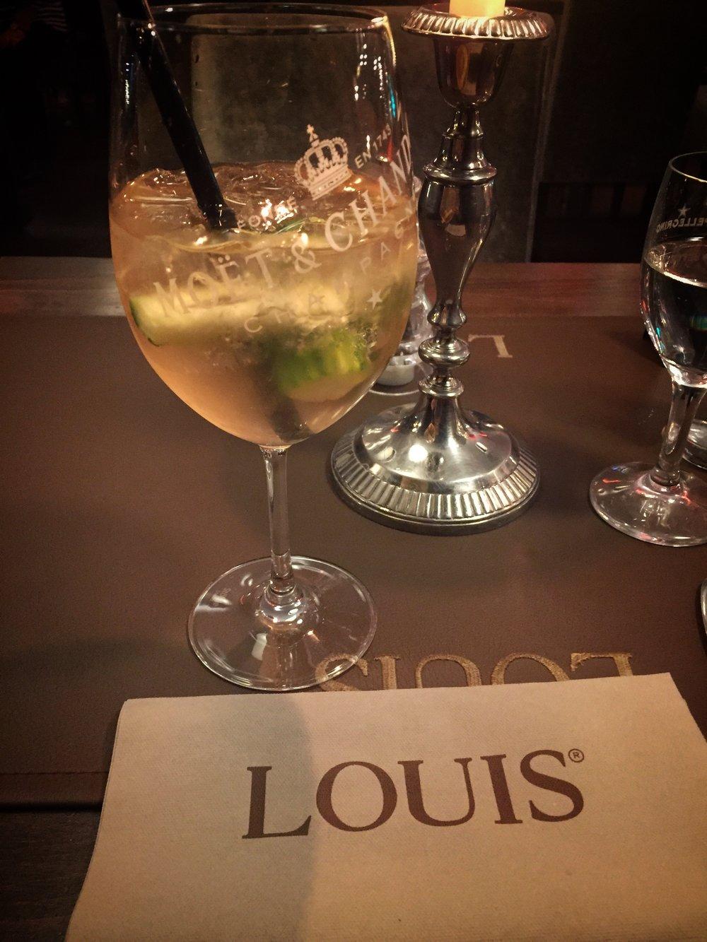 Christmas dinner at Louis Restaurant (Nuremberg)