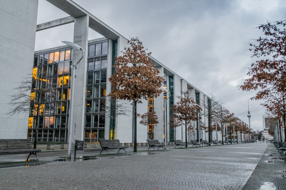 the 2001 Paul-Löbe-Haus, a federal office building
