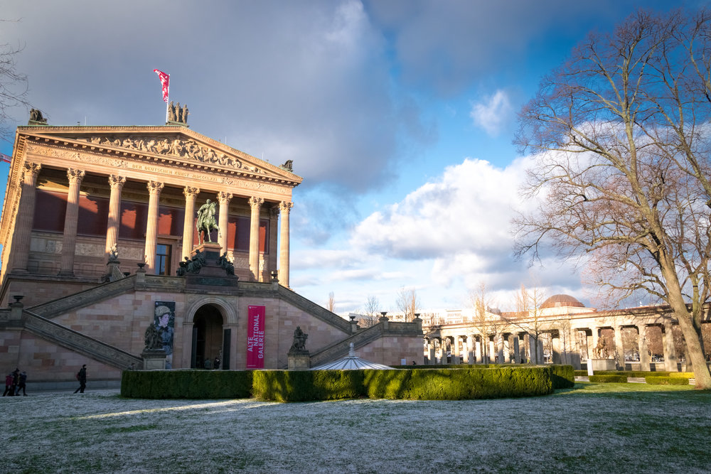 Alte Nationalgalerie, collection of Romantic, Impressionist & early Modernist art