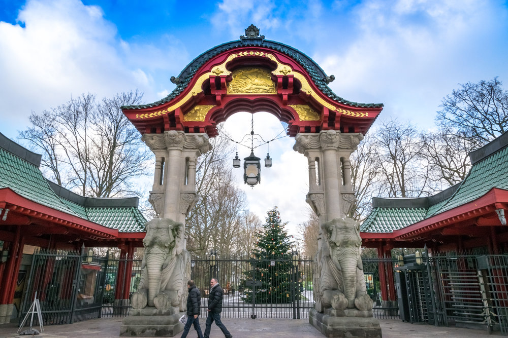 entrance to the Berlin Zoo