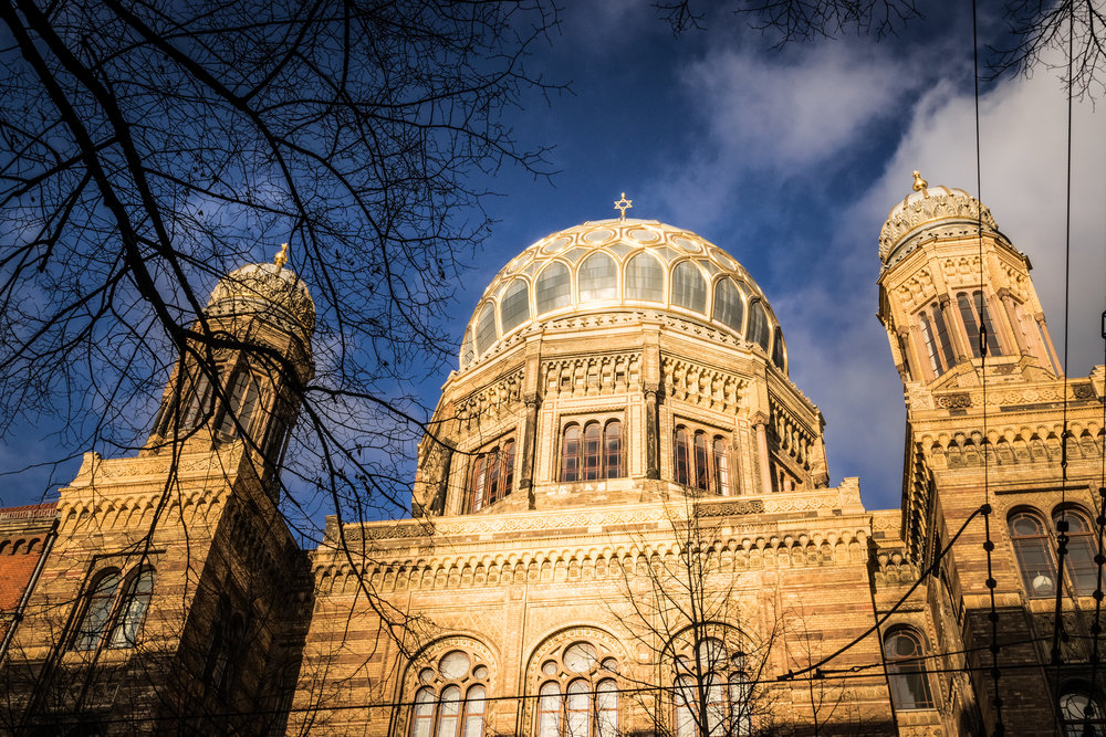 Foundation New Synagogue Berlin