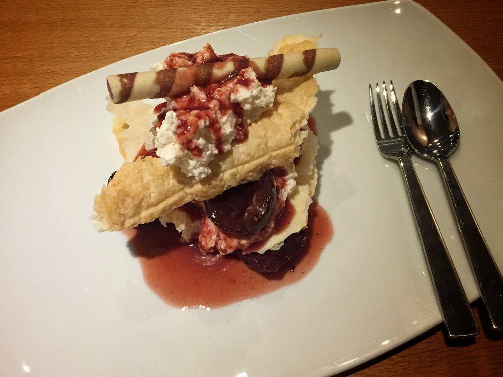 dessert at Steverbett Hotel (Lüdinghausen)