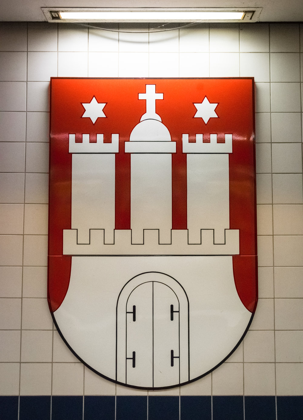 Hamburg city symbol
