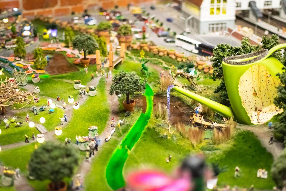 fun park scene