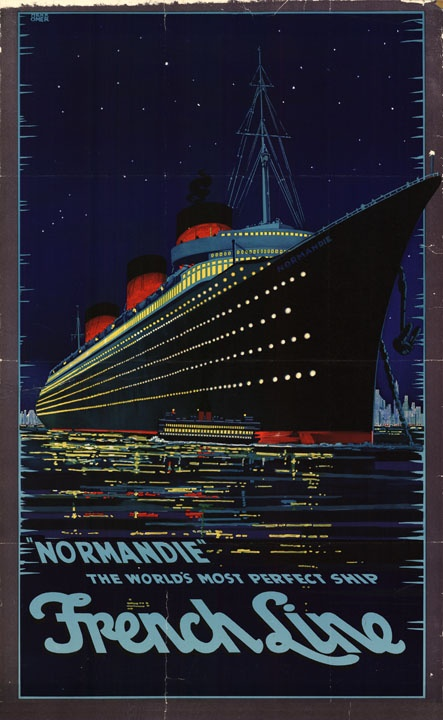 the SS Normandie (photo credit: lapl.org)