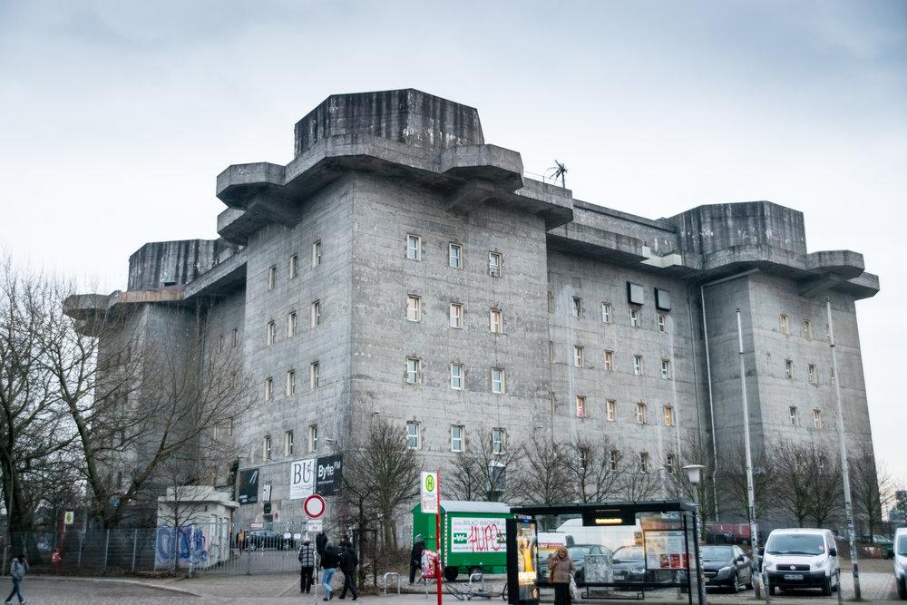 Flakturm IV in St. Pauli